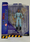 New The Real Ghostbusters ~ WINSTON ZEDDEMORE ACTION FIGURE  DST Diamond Select