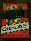 1984 TOPPS GREMLINS WAX BOX 36CT WITH STICKERS