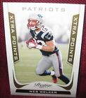 Wes Welker Cards and Autographed Memorabilia Guide 17