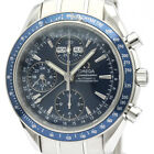 Polished OMEGA Speedmaster Day Date Steel Automatic Mens Watch 3222.80 BF508595