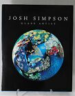 JOSH SIMPSON Glass ARTIST PAPERWEIGHT BOOK Signed