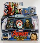 Mini Mates Walgreens Exclusive Captain America Peggy Carter Black Panthers Quest