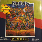 Dowdle Nativity 100 Piece Jigsaw Puzzle Sealed New 16 x 20
