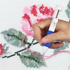 DIY Embroidery Pen Magic Knitting Sewing Tool Punch Needle + 50 Threads Kit US