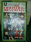 Vtg Arrow 1970 Christmas 12 Ornament Kit Paint By Number SEALED NOS NATIVITY