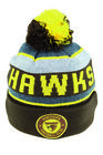 AFL Beanie - Hawthorn Hawks - 3 Designs To Choose From - Suits Adult Infant