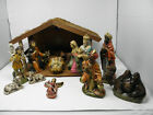 Large 13 pcs + Creche NATIVITY SET Japan