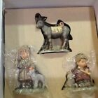 Berta Hummel Figurines Nativity Sheperds and Donkey