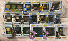 44 Funko Pop Game Lot: Mortal Combat, Tekken, Chase, Retired, Exclusive, Glow 44