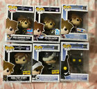 Lot Of 18 Funko Pop! Kingdom Hearts (3 Pack, 2 Pack, Exclusive, Fall Convention)