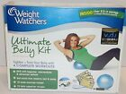 Weight Watchers Ultimate Belly Kit w Mini Stability Ball Pump DVD Exercise Ball