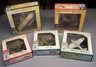 Lot of 5 Pre Owned Model Power Die Cast Postage Stamp Airplanes Unplayed With