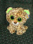 Ty Beanie Boo  SPECKLES  the Leopard 9