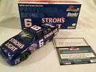 1989 Mark Martin 6 Strohs Light Thunderbird Blue Chrome Autographed 1 24