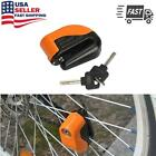 Anti-theft Wheel Disc Brake Lock Security Alarm For Motorcycle Scooter Bicycle