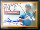 2019 Topps Brooklyn Collection Auto Dale Murphy 08 25 Orange Atlanta Braves