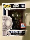 NEW - Funko Pop! - Death Star Droid (White) - Star Wars - 2017 NYCC Exclusive
