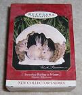 Hallmark Keepsake Ornament - Snowshoe Rabbits in Winter Majestic Wilderness
