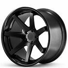 4ea 20x9 Ferrada Wheels FR1 Matte Black with Gloss Black Lip RimsS4
