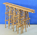 Scratch Built On30 Gauge Trestle Bridge w Rails