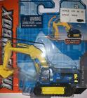 2011 MATCHBOX REAL WORKING RIGS MBX EXCAVATOR 7400E BLUE  YELLOW