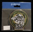 INTERNATIONAL SPACE STATION ISS RISE ABOVE PATCH IN BOEING ORIGINAL PACKAGING