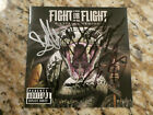Fight Or Flight Signed CD Cover. Ships ASAP!