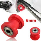 8mm Chain Roller Slider Tensioner Wheel Guide Pulley Dirt Pit Bike Motorcycle