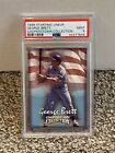 1999 Starting LineUp Cooperstown Collection - GEORGE BRETT - PSA 9 Mint
