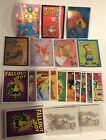 LOT of SIMPSONS 1993 chase cards WIGGLE, RADIOACTIVE MAN set, TATTOO set- Skybox
