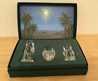 WATERFORD Marquis NATIVITY Collection The Holy Family Mary Jesus Figurines