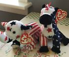 Ty Beanie Babies  2000 Righty & Lefty. Perfect Shape