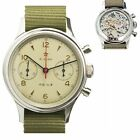 1963 Watch Reissue Mechanical Chronograph Sapphire Glass with Seagull Movement