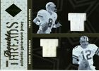2003 LIMITED THREADS GU THANKSGIVING JERSEY TROY AIKMAN ROGER STAUBACH 54 100