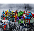 5D Diamond Painting Full Drill Embroidery Cross Stitch Kit Home Decor Super hero