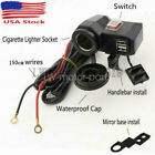 LWKDDT USB Charger For Harley Davidson Electra Glide Ultra Classic EFI FLHTCUI