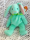 Rare Retired 1996 Ty Hippity The Bunny Beanie Baby W/Multiple Tag Body Errors