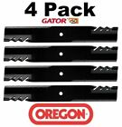 4 Pack Oregon 596 344 Mower Blade Gator G5 Fits Dixon 10715