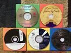 #10.  Great Acoustic Guitarists Sampler Lot.  5 CD's of Extraordinary Musicians.