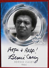DAVID BOWIE - The Man Who Fell To Earth - BERNIE CASEY - Autograph Card