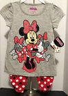 Minnie Mouse Size 5 2 piece Outfit Short Sleeve Top Pants NWT