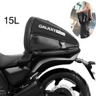 Tail Bag Trunks Motorcycle Bag Luggage Saddle Bag w/ Rain Cover 15L Foldable