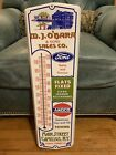 Ford Amoco Gas Oil Advertising Sign Thermometer