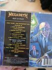 Megadeth : Rust in Peace: Remastered CD (2004) Thrash Metal Slayer Metallica