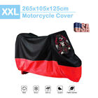 XXL Waterproof Motorcycle Cover For Suzuki Intruder Volusia 750 800 1400 1500 US