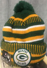 2019 Green Bay Packers New Era NFL Knit Hat On Field Sideline Beanie Hat