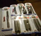 Bachmann N scale ez track lot of seven pieces in original blister packs