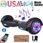 65 Hoverboard Electric Self Balance Bluetooth Scooter UL2272 Black+Gray No Bag