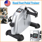 Hand Foot Pedal Trainer Exerciser Mini Exercise Bike Bicycle for Home Gym Indoor