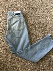 Re done Originals High rise Jeans In Blue Sz 28 Button Fly